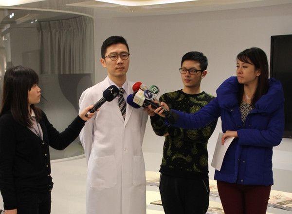台灣及內地電視新聞台採訪